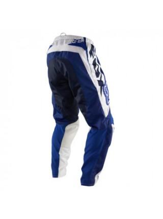 Кроссовые штаны FOX Youth 180 Race White-Blue W