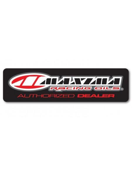 """Наклейка Maxima Authorized Dealer Window 15 """"Red"""