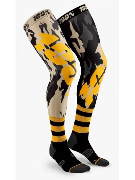 Мото шкарпетки Ride 100% REV Knee Brace Performance Moto Socks Assault S M