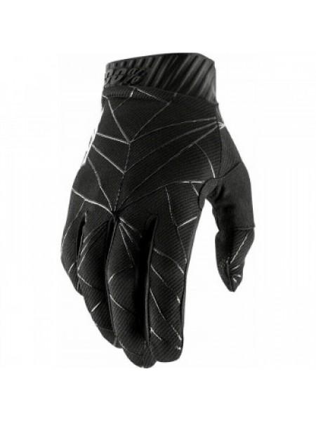 Мотоперчатки Ride 100% Ridefit Glove Black-White 2XL (12)