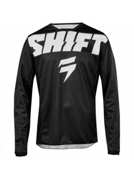 Мотоджерси детская Shift Youth Whit3 York Jersey Black