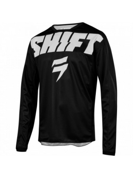 Мотоджерси Shift Whit3 York Jersey Black