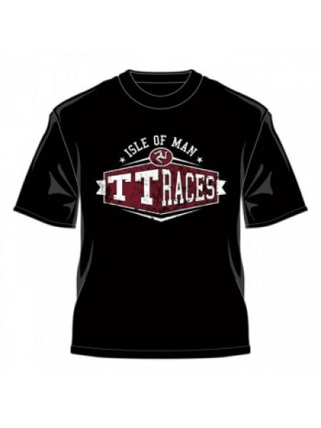Футболка IOMTT Races Retro Custom T-Shirt Black