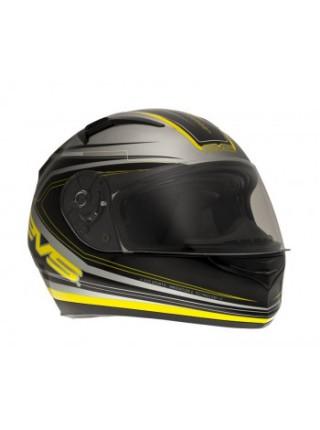 Мотошлем EVS CYPHER Maverick Black-Yellow