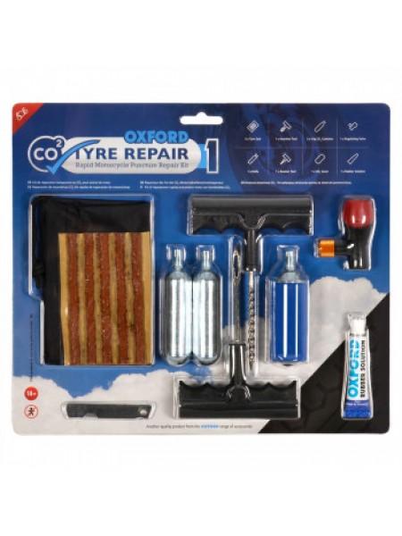 Ремкомплект Oxford CO2yre Repair 1 M'cycle Tyre Kit