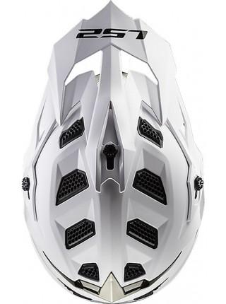 Мотошлем LS2 MX470 SUBVERTER SINGLE MONO GLOSS WHITE XXL