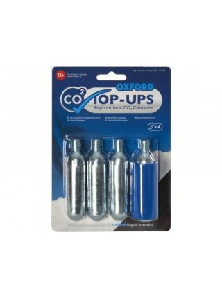Балони для мотошин Oxford CO2 Top-ups (4 pack)