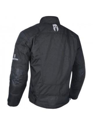 Мотокуртка Oxford Spartan Short Jacket All Black 3XL