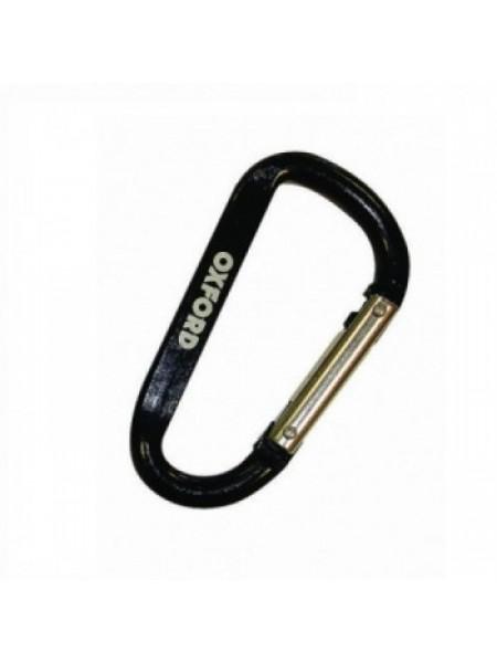 Карабин для ключей Oxford Carabiner Black