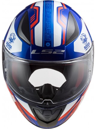 Мотошлем LS2 FF353 RAPID STRATUS GLOSS BLUE RED WHITE