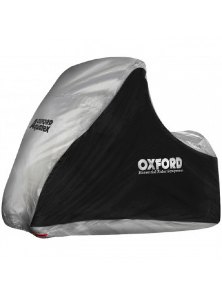 Моточехол Oxford Aquatex MP3/3 Wheeler Black-Silver