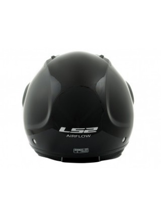 Мотошлем LS2 OF562 Airflow Long Gloss Black