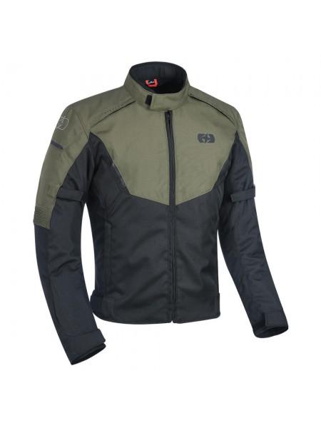 Мотокуртка Oxford Delta 1.0 Jacket Black & Green