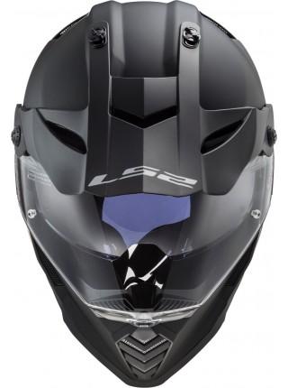 Мотошлем LS2 MX436 PIONEER EVO MATT BLACK