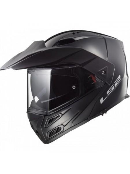 Мотошлем LS2 FF324 Metro Evo P J Gloss Black