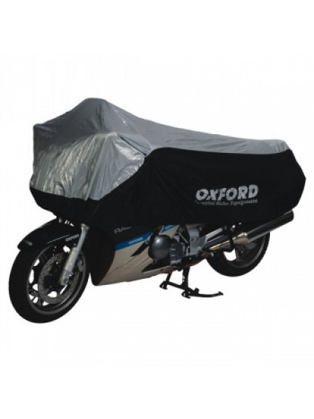 Моточехол Oxford Umbratex Black-Silver L