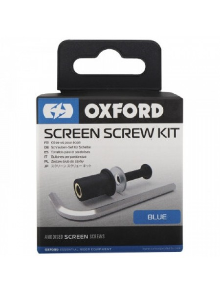 Винты для ветрового стекла Oxford Screen Screw Blue