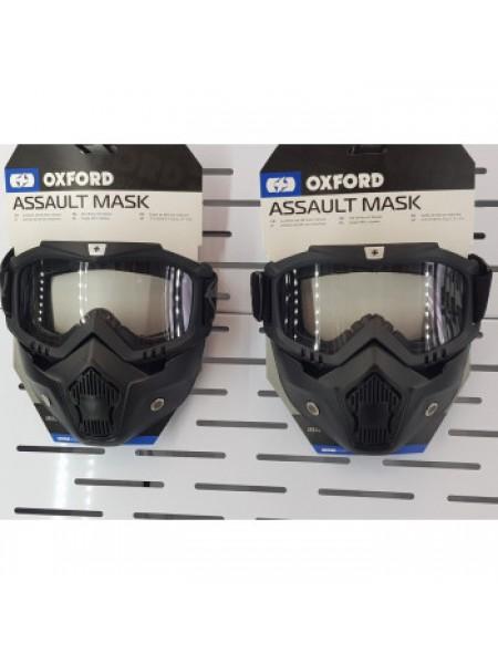 Кроссовая маска Oxford Assault Pro Goggle Black