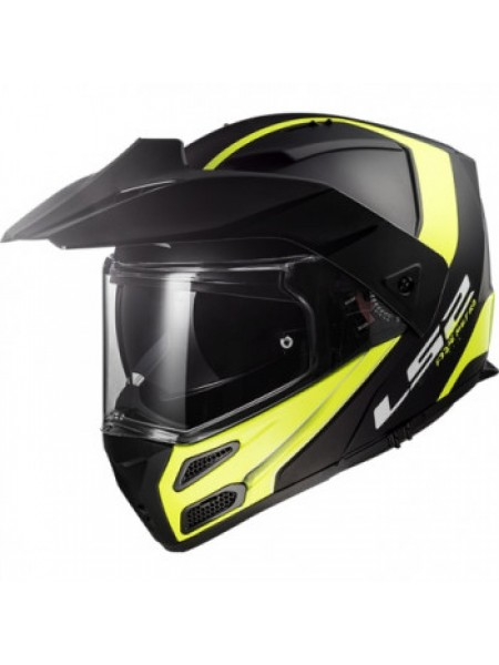 Мотошлем LS2 FF324 Metro Evo Rapid Matt Black Yellow