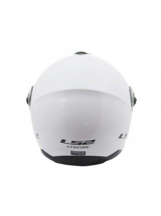 Мотошлем LS2 FF325 Strobe Gloss White
