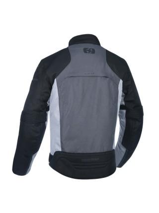 Мотокуртка Oxford Delta 1.0 Jacket Black Grey & Red