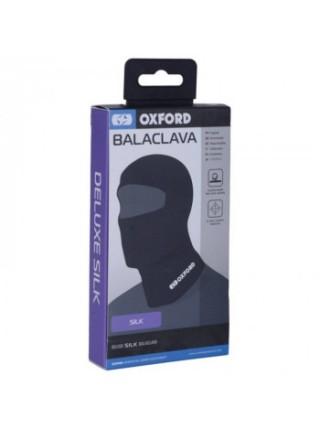 Балаклава Oxford Deluxe Balaclava Silk Black