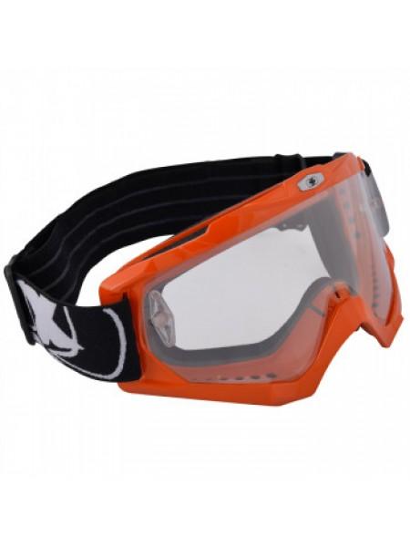 Кроссовая маска Oxford Assault Pro Goggle Orange