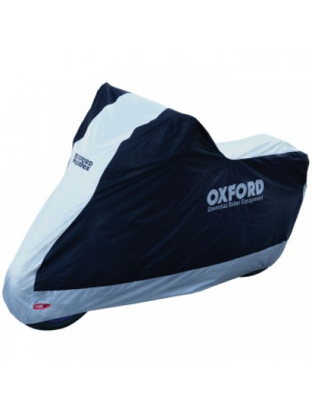 Моточехол Oxford Aquatex Black-Silver S