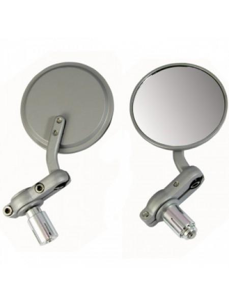 Зеркала с креплением на ручки Oxford Bar End Mirrors Silver
