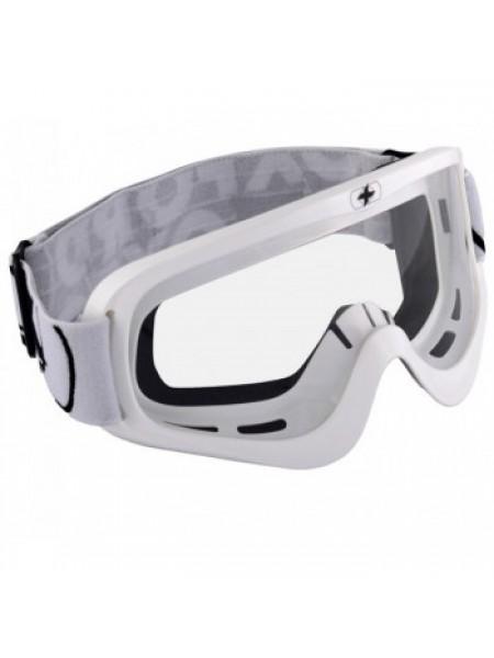 Кроссовая маска Oxford Fury Goggle White