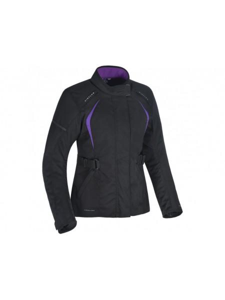 Мотокуртка женская Oxford Dakota 2.0 WS Black-Purple 10
