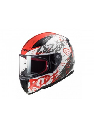 Мотошлем LS2 FF353 Rapid Naughty White-Red L