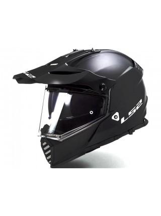 Мотошлем LS2 MX436 Pioneer EVO Gloss Black XL
