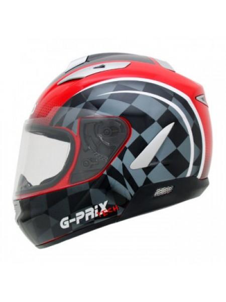Мотошлем Shiro SH-7000 G-Prix Tech Red