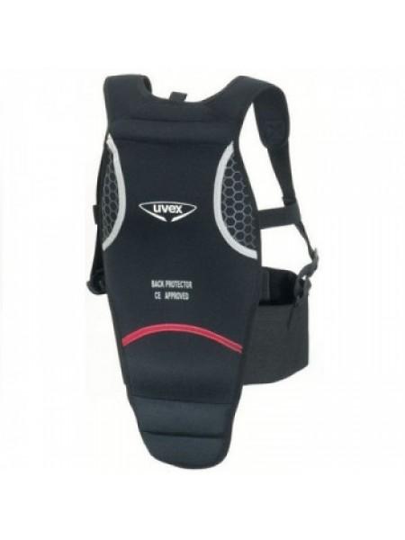 Защита спины детская Uvex Comfort Potector Grip Junior Black XS