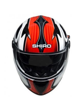 Мотошлем Shiro 692 SH 3700 Mugello Black-White-Red L