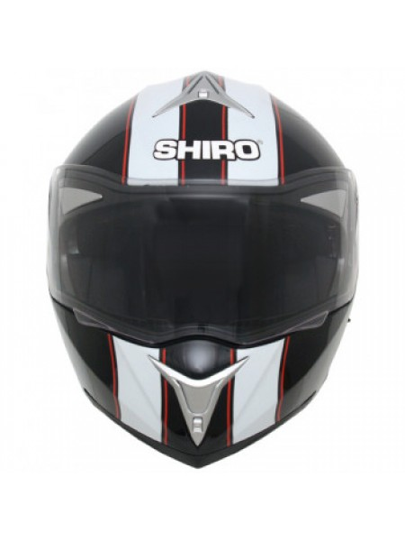 Мотошлем Shiro 664 SH 835 Viper Black-White-Red L