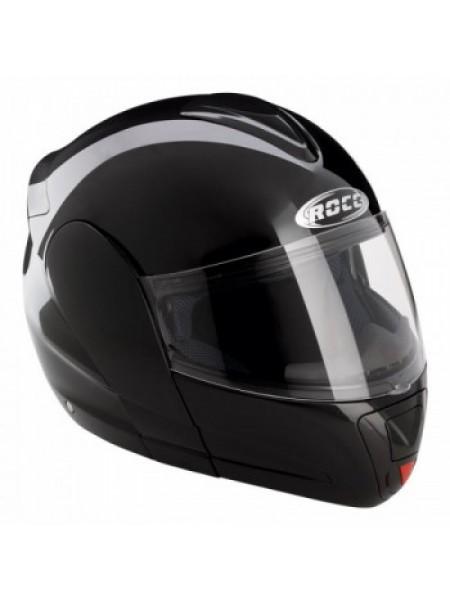 Мотошлем Rocc 620 Metallic Black XL