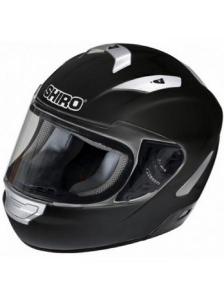 Мотошлем Shiro SH-7000 Monocolor Black